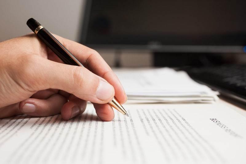Writing procedure paper
